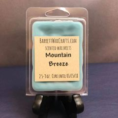 Mountain Breeze scented wax melt.