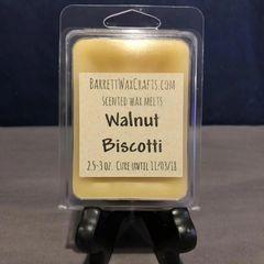 Walnut Biscotti scented wax melt.