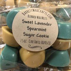 Blended Melts: Sweet Lavender + Spearmint + Sugar Cookie
