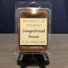 Gingerbread House scented wax melt