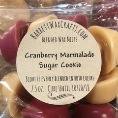 Blended Melts: Cranberry Marmalade + Sugar Cookie