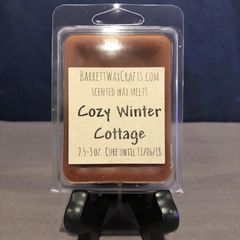 Cozy Winter Cottage scented wax melt.