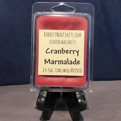Cranberry Marmalade scented wax melt.