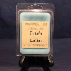 Fresh Linen scented wax melt.