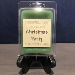 Christmas Party scented wax melt.