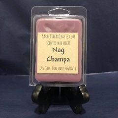 Nag Champa scented wax melt.
