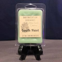 """Aloha Spirit Collection"" South Point scented wax melt."