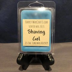 Shaving Gel scented wax melt.