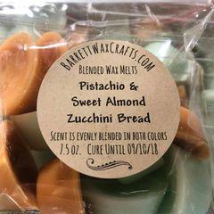 Blended Melts: Pistachio & Sweet Almond + Zucchini Bread
