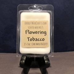 Flowering Tobacco scented wax melt.