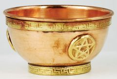 """Pentacle Offering Bowl 3"""""""