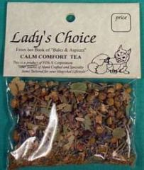 Calm Comfort Herbal Tea (5 + Cups)