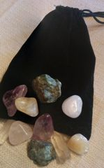 Psychic Enhancement Crystal Empowerment Pouch