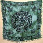 """Greenman Altar Cloth 36""""x 36"""""""