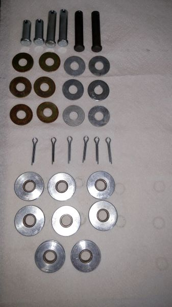 Single Axle Ice Castle Fish House Cable Pulleys Rebuild Kit