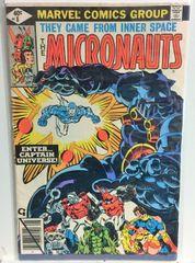 1979 Marvel Comics Micronauts #8 - Key Issue - Nice Book!