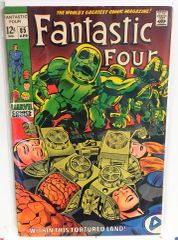 Fantastic Four #85 1969 Comic (6.0)