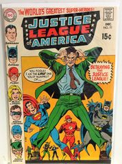 Justice League of America #77 1969 Comic (F/VF)