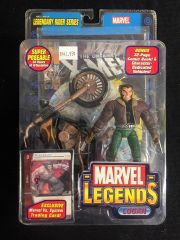 Marvel Legends LOGAN Legendary Riders Series 2005 With Comic