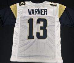 Kurt Warner Replica Away St Louis Rams XL Jersey