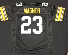 Mike Wagner Replica Home Pittsburgh Steelers XL Jersey