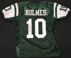 Santonio Holmes Jets Autographed Jersey AAA COA