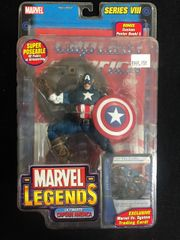 Marvel Legends ULTIMATE CAPTAIN AMERICA Series 8 2004 With Poster Book