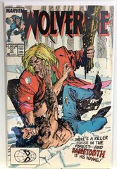 Wolverine #10 1989 Comic (1st Sabretooth Fight) (8.5)