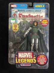 Marvel Legends DR. DOOM Series 2 2002 With Comic