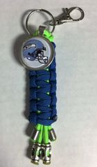 Seattle Seahawks Handmade Keychain
