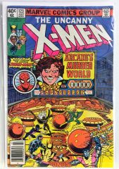 The Uncanny X-men #123 1979 Comic Spider-Man App. (F/VF)