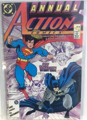 Action Comics Annual #1 1987 Comic (VF+)