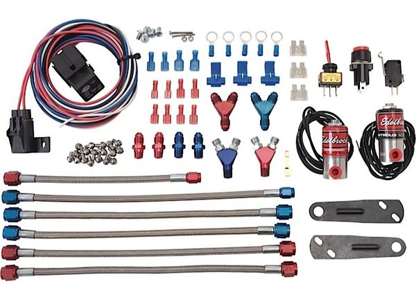 NITROUS OXIDE INJECTION SYSTEM KIT SINGLE TO DUAL