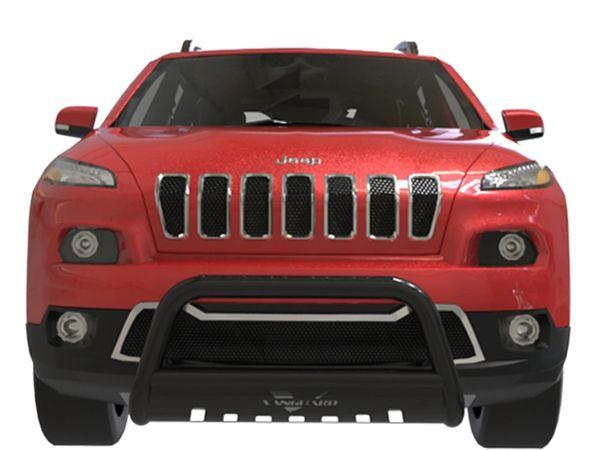 Vanguard Bull Bar 2.5″ w. Skid Plate 2014-2018 Jeep Cherokee