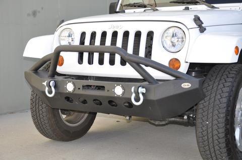 DV8 Offroad FS-8 Front Bumper Jeep Wrangler 2007-2018
