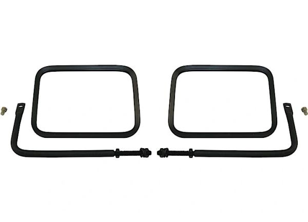76-95 & 97-18 JEEP WRANGLER BLACK SAFARI TAIL MIRROR PAIR