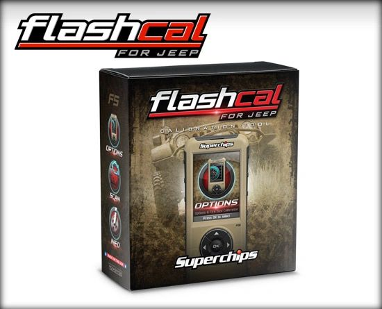 Superchips Flashcal F5 SPC3571 TUNER/CHIP 07-16 JEEP JK 3571