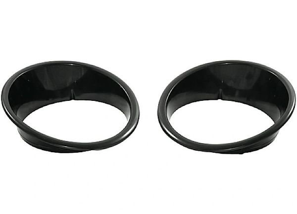 Headlight Bezels, Black; 07-16 Jeep Wrangler JK 12419.25