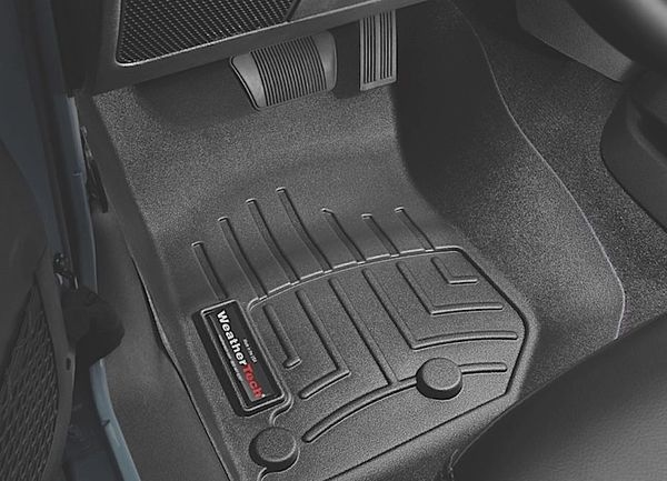 WeatherTech Floor Mats Jeep Wrangler 14-17 front set 445731