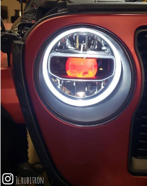 ORACLE DEMON EYE COLORSHIFT PROJECTOR ILLUMINATION KIT WITH CONTROLLER OPTION JEEP WRANGLER JL