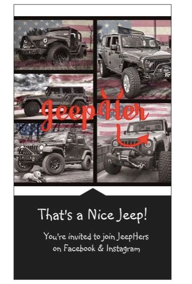 JeepHer Nice Jeep cards