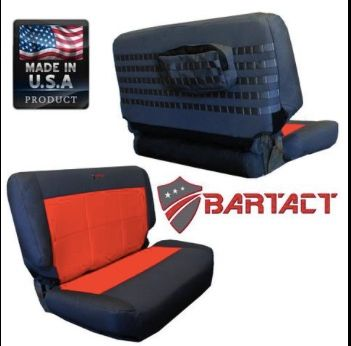 BARTACT MIL-SPEC 1997-02 JEEP WRANGLER TJ REAR BENCH SEAT COVER