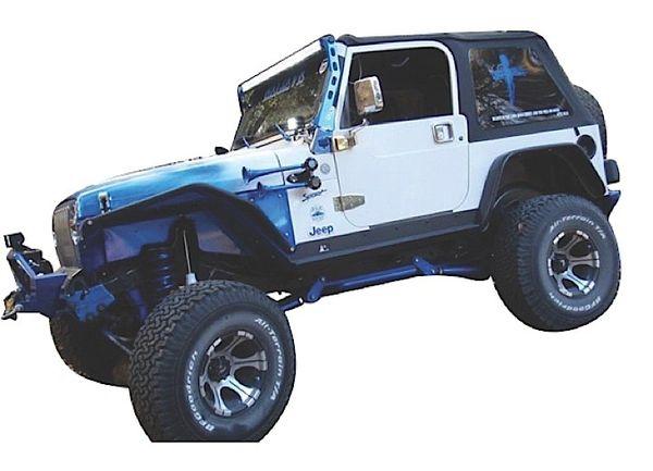 NFab LIGHT BAR MOUNTING 97-06 Jeep TJ KITNFBJ9750LR