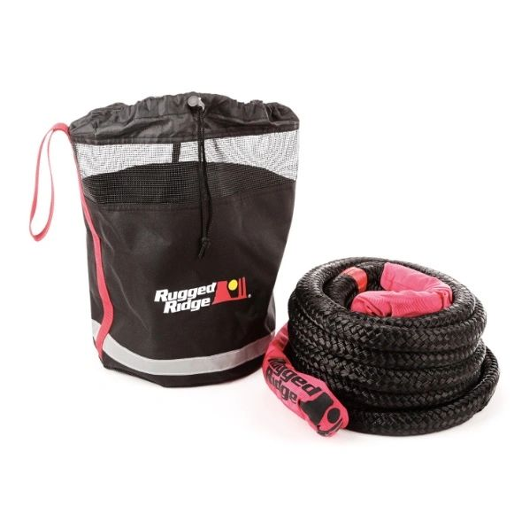 Rugged Ridge Kinetic Recovery Rope with Cinch Storage Bag 15104.30