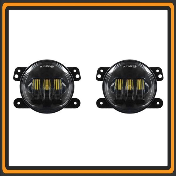 Quake 2018 + Jeep JL LED Fog Light – RGB QTE904