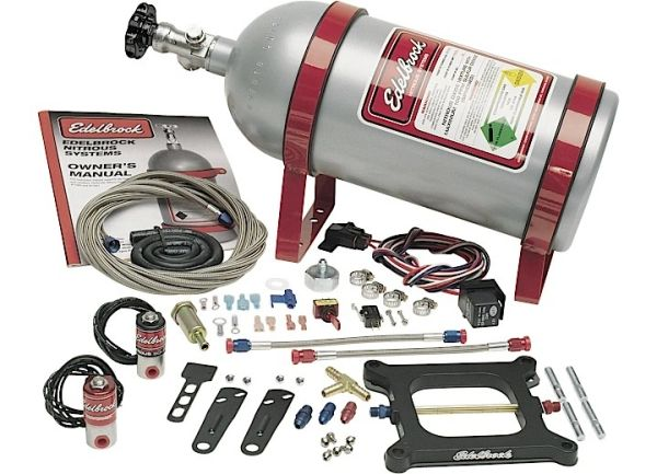 EDELBROCK NITROUS OXIDE INJECTION SYSTEM KIT