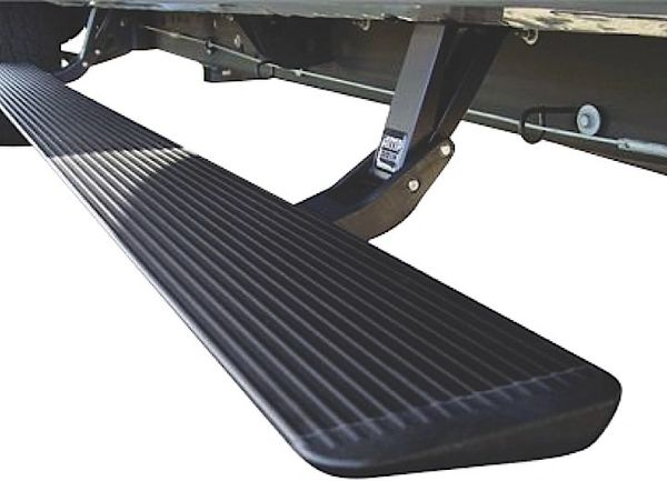 AMP POWERSTEP RUNNING BOARDS 15-16 F150 PLUG AND PLAY POWERSTEP W/LIGHT KIT