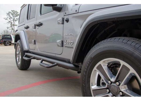 NFAB 18-C WRANGLER JL 4 DOOR 3IN NERF STEP BARS