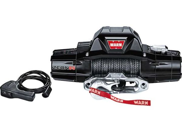 warn ZEON 8000LB WINCH SPYDURA SYNTHETIC ROPE