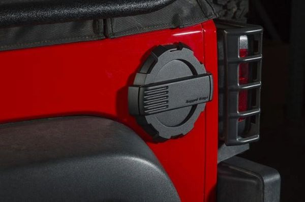 RUGGED RIDGE ELITE FUEL DOOR 07-17 WRANGLER